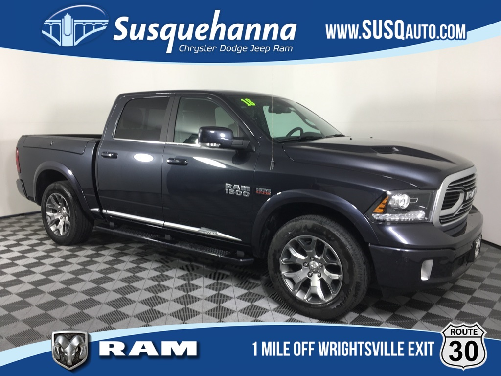 Certified Pre-Owned 2018 Ram 1500 Laramie Limited