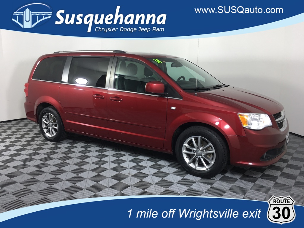 Pre Owned 2014 Dodge Grand Caravan Sxt 4d Passenger Van In