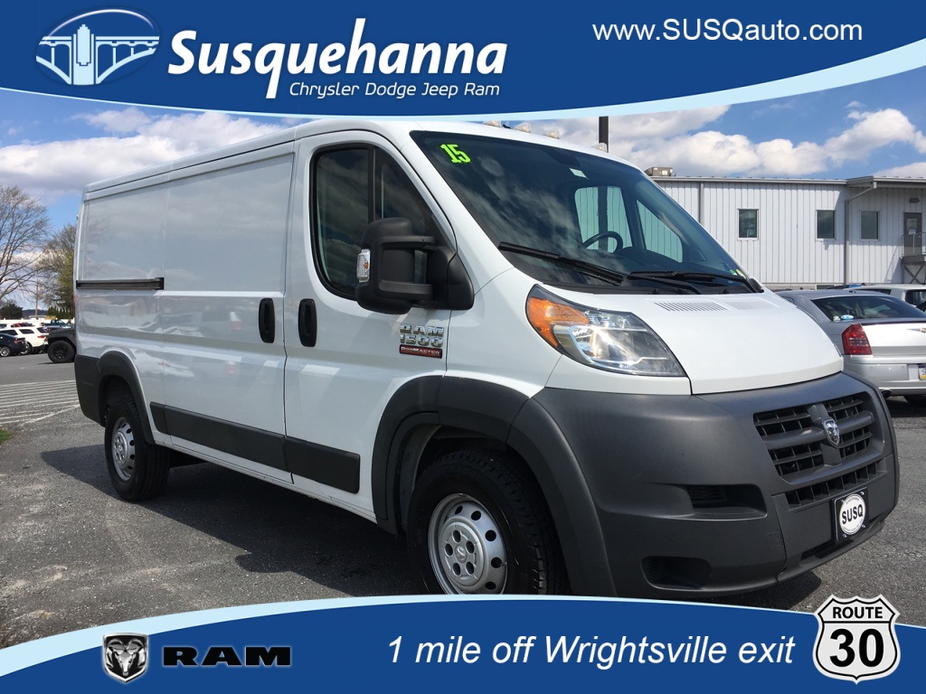 0462a29a1fc0b2 Pre-Owned 2015 Ram ProMaster 1500 Low Roof 3D Cargo Van in ...