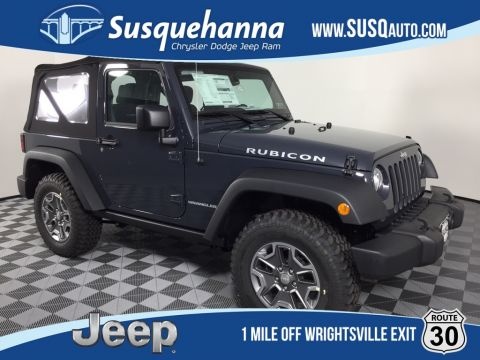 Certified Pre-Owned 2017 Jeep Wrangler Rubicon
