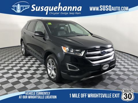 Pre-Owned 2016 Ford Edge Titanium With Navigation & AWD