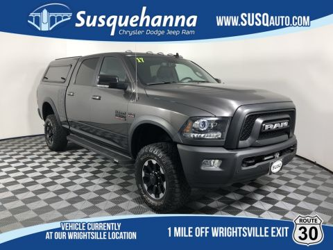 Certified Pre-Owned 2017 Ram 2500 Power Wagon With Navigation & 4WD