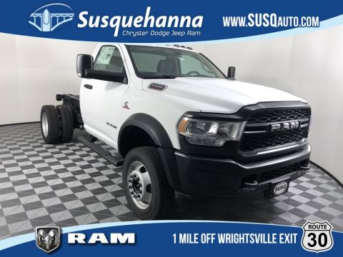 New 2019 RAM 5500 Chassis Cab Tradesman 4x4 Regular Cab