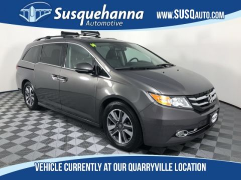 Pre-Owned 2014 Honda Odyssey Touring Elite With Navigation