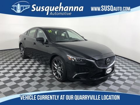 Pre-Owned 2017 Mazda6 Grand Touring With Navigation