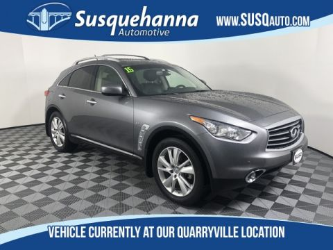 Pre-Owned 2015 INFINITI QX70 Base With Navigation & AWD